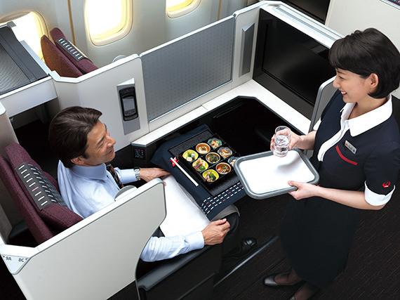JAL Seats Skysuite Tray down .jpg
