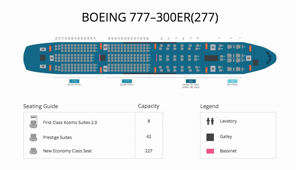 Boeing 777 300er Seat Map Image Gallery HCPR