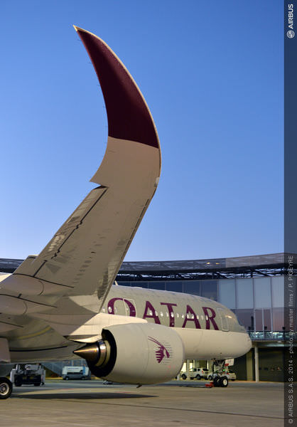Qatar Plane A350_first_delivery_-_morning_ambiance.jpg