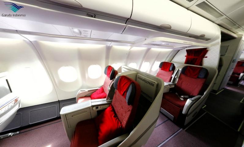 GA - Garuda Indonesia A330 36 seat configuration