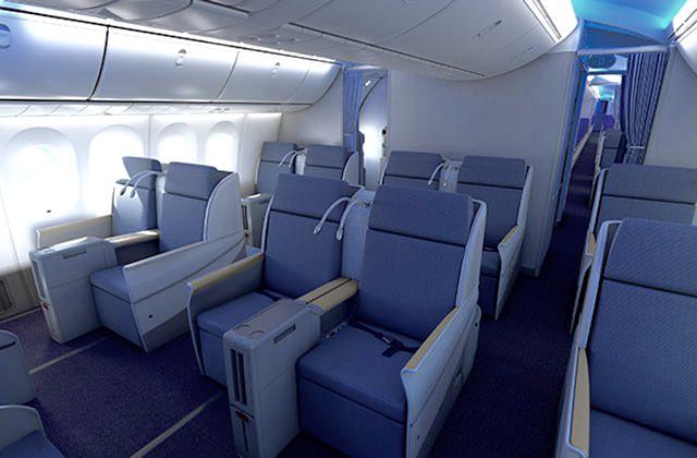 Boeing 787 Reward Flying