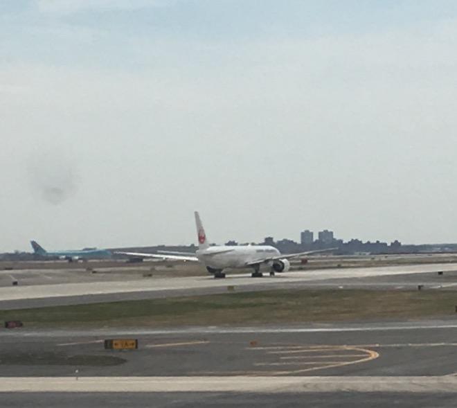 JAL departing JFK