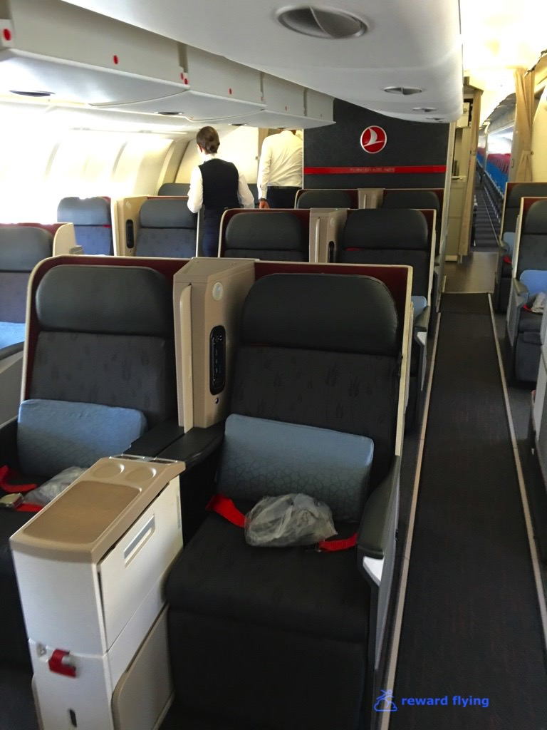 Turkish Airlines A330 300 Business Class Kul Ist Reward