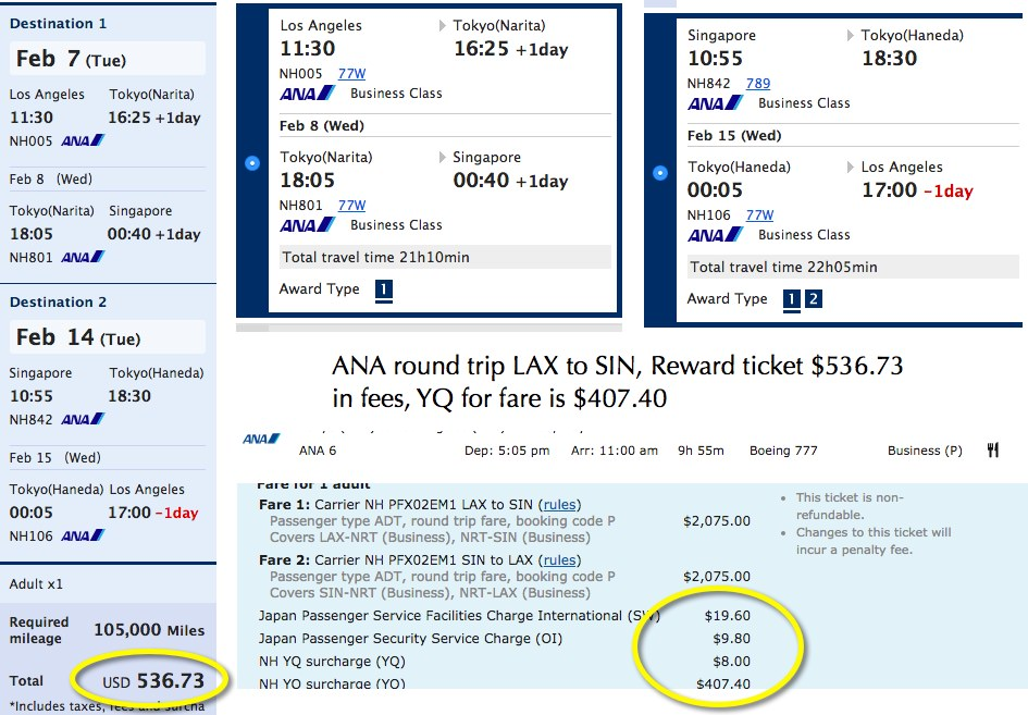 Ana Mileage Club Reward Flying