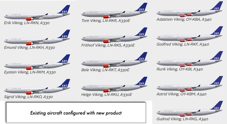 Sas A340 300 Business Class Cph Pek Reward Flying