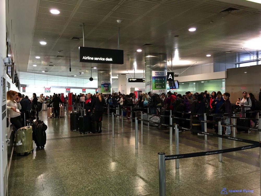 Qantas Melbourne