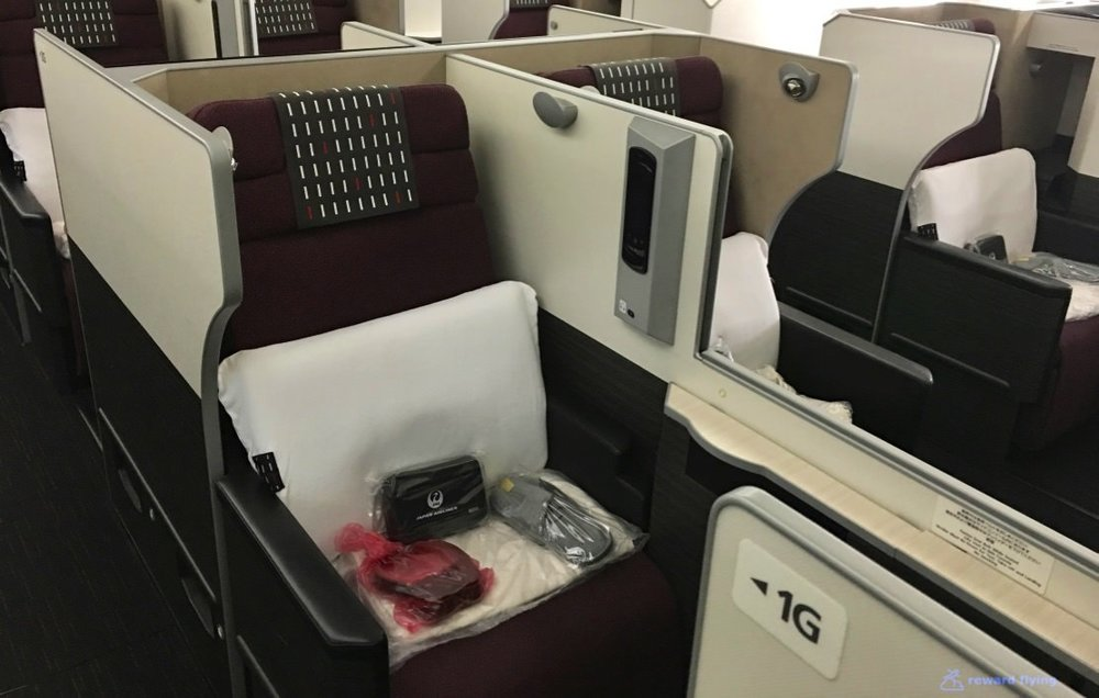 JL - Japan Airlines SkySuite