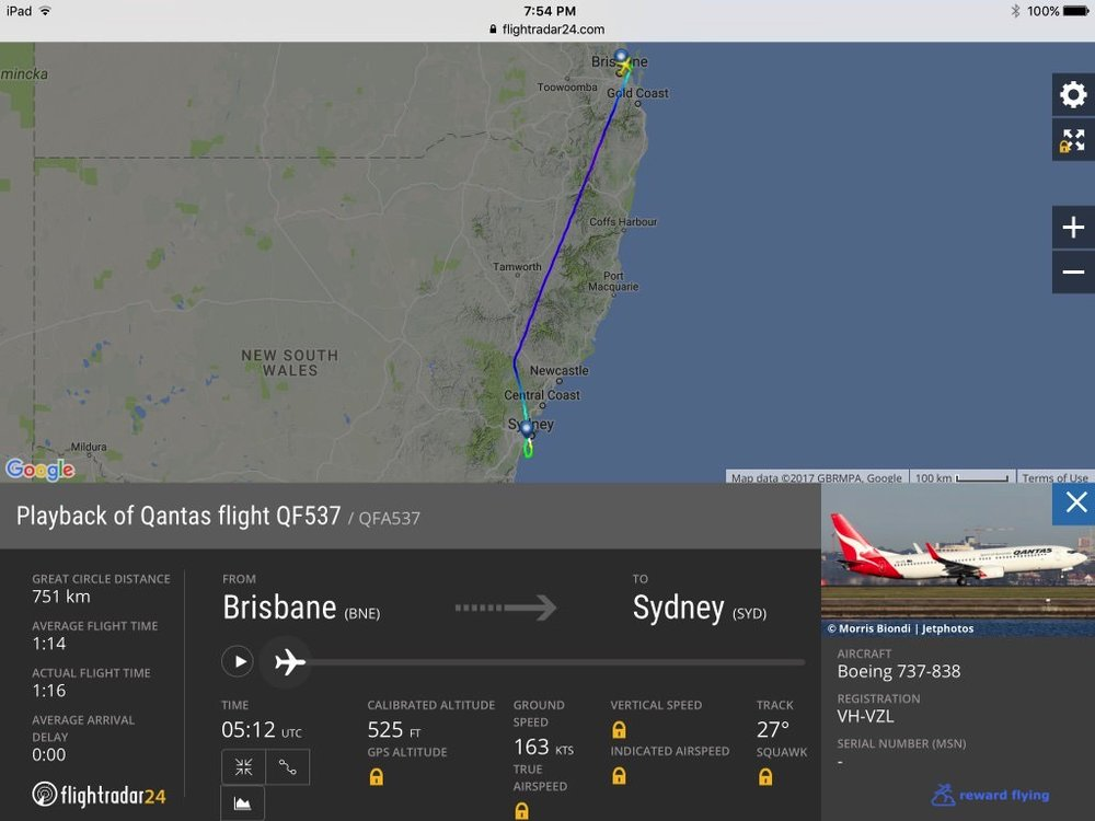QF537 Flight path.jpg
