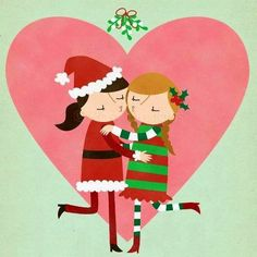 Find your Christmas sweetheart...