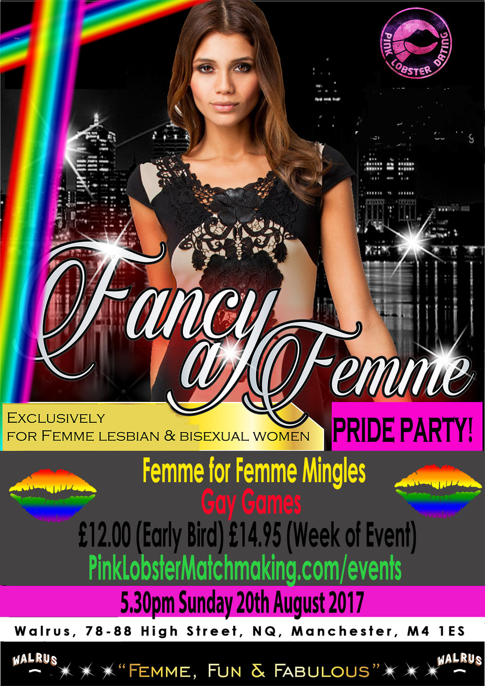 Femme Manchester Singles Lesbian, Bisexuals, women who like women for love