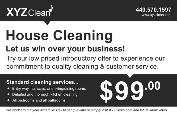 Low Prices — XYZ Clean - Office. Homes. and Apartments