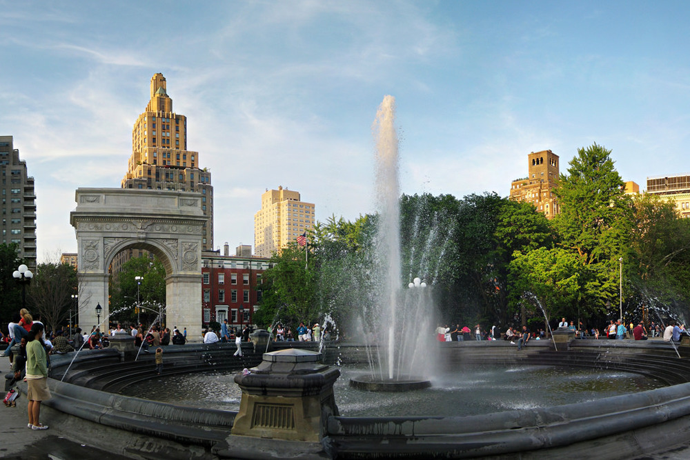 """Washington Square Park"" by fortes is licensed by CC BY-SA 2.0"