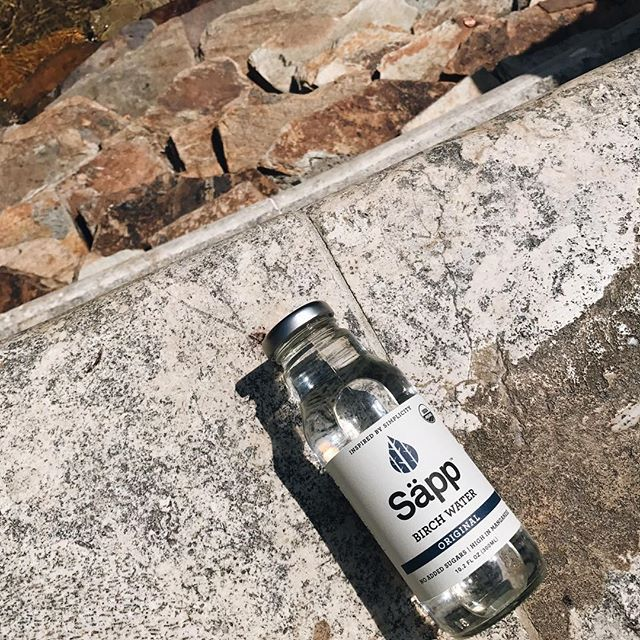 Whether you completed a morning hike or are in between meetings, let the power of the birch tree refresh and awaken you #sapplife #original