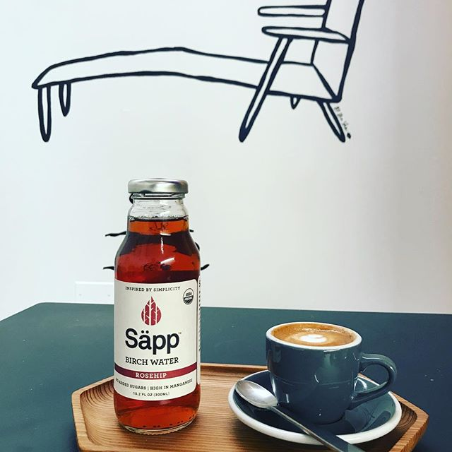 Whether you're loungin' indoors or outside, start the day with a bottle of refreshing, forest-to-bottle Säpp! #wakeupwithsapp #rosehip