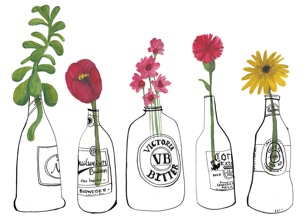 Stolen Flowers - Personal Work (2014)