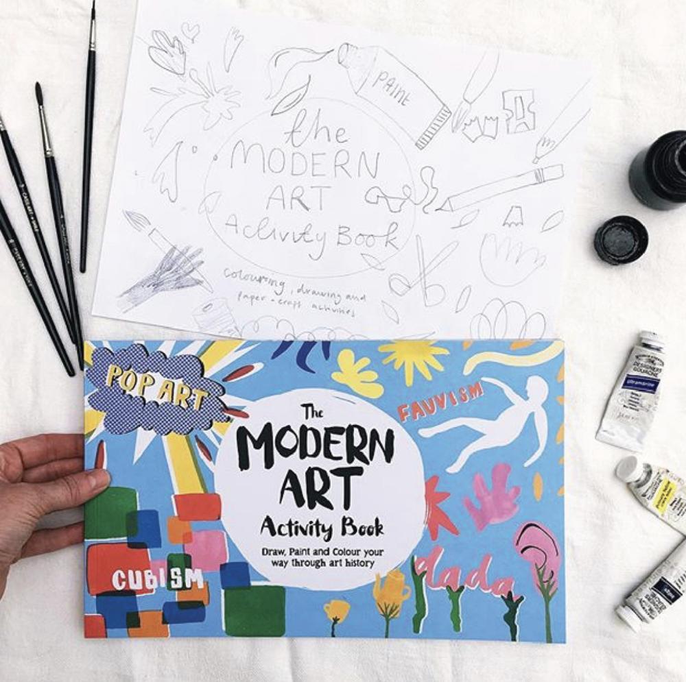 The Modern Art Activity Book (2016)