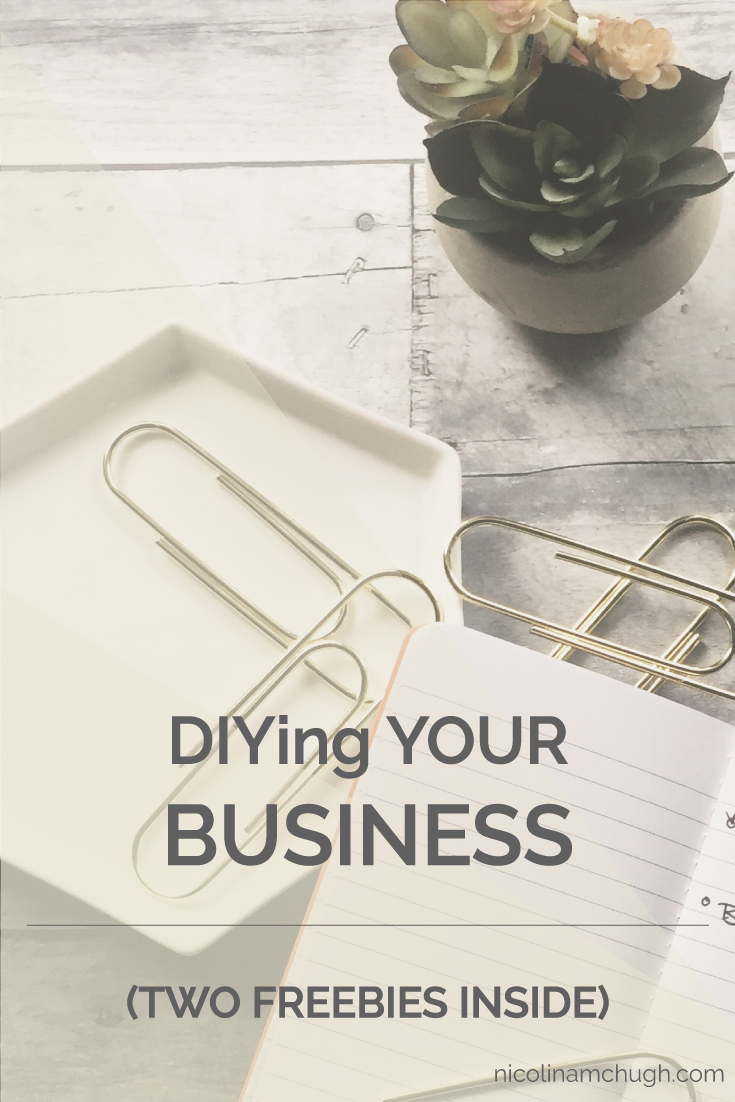 You can even start a business the DIY route. But there are some things you can address right off the bat so that DIY doesn't turn into WTF. Save for later, or read it now, but enjoy the TWO freebies inside.