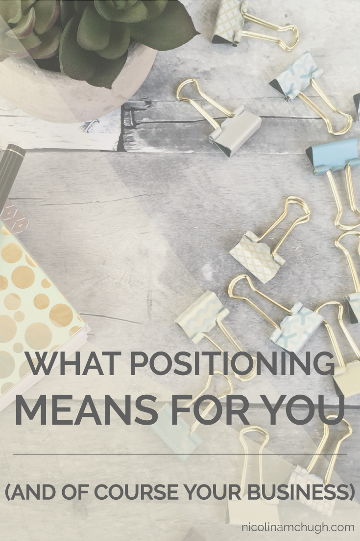 While sharing this post topic with hubs, we both had to have a little giggle from our inner 7th graders (I give you permission to laugh if you so feel the urge). It sounds funny and dirty and overall amusing, but positioning from a business standpoint is actually a part of the foundation of your business.