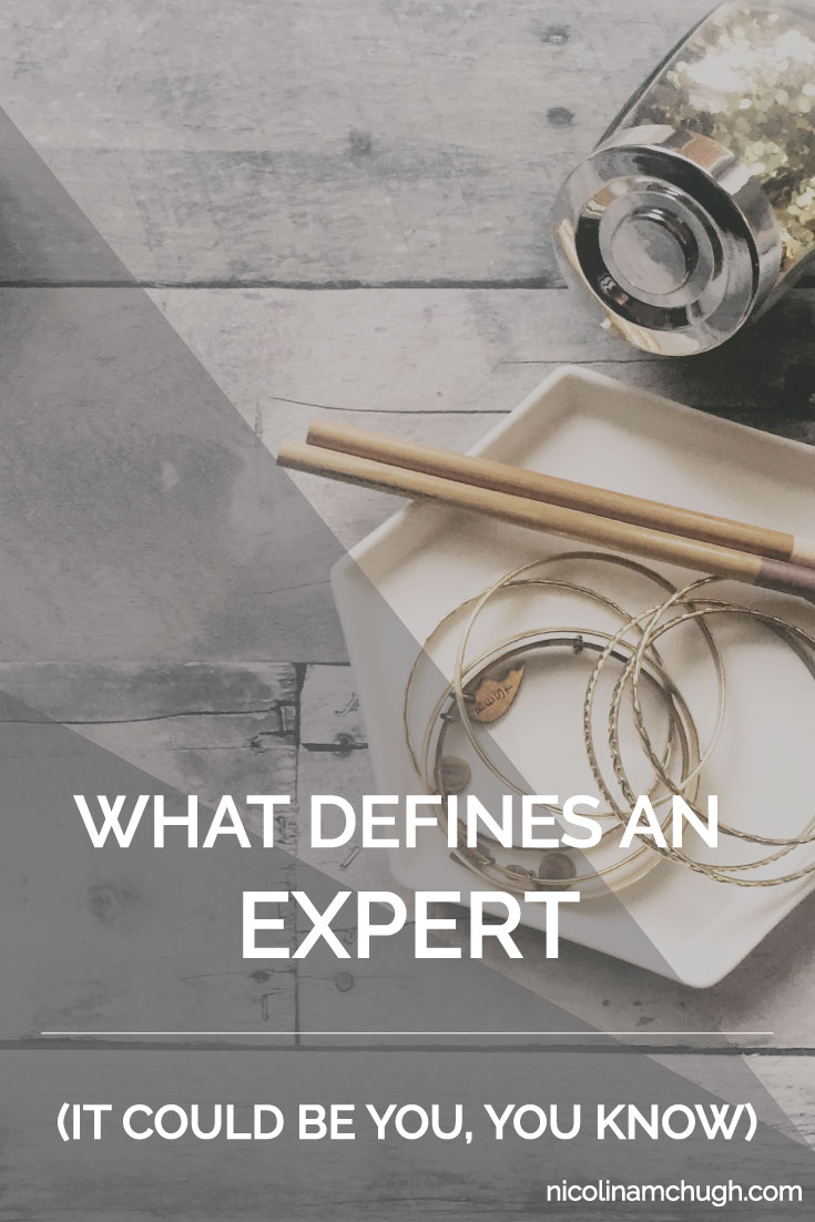 We hear about people trying to establish themselves as an expert. We hear about tools. We hear about continuing education. We hear about the debt of continuing education (I'm not going there, promise.) But there are a lot of ways that we define experts because guess what? The title of expert isn't something like a tiara that you just pop on one day.