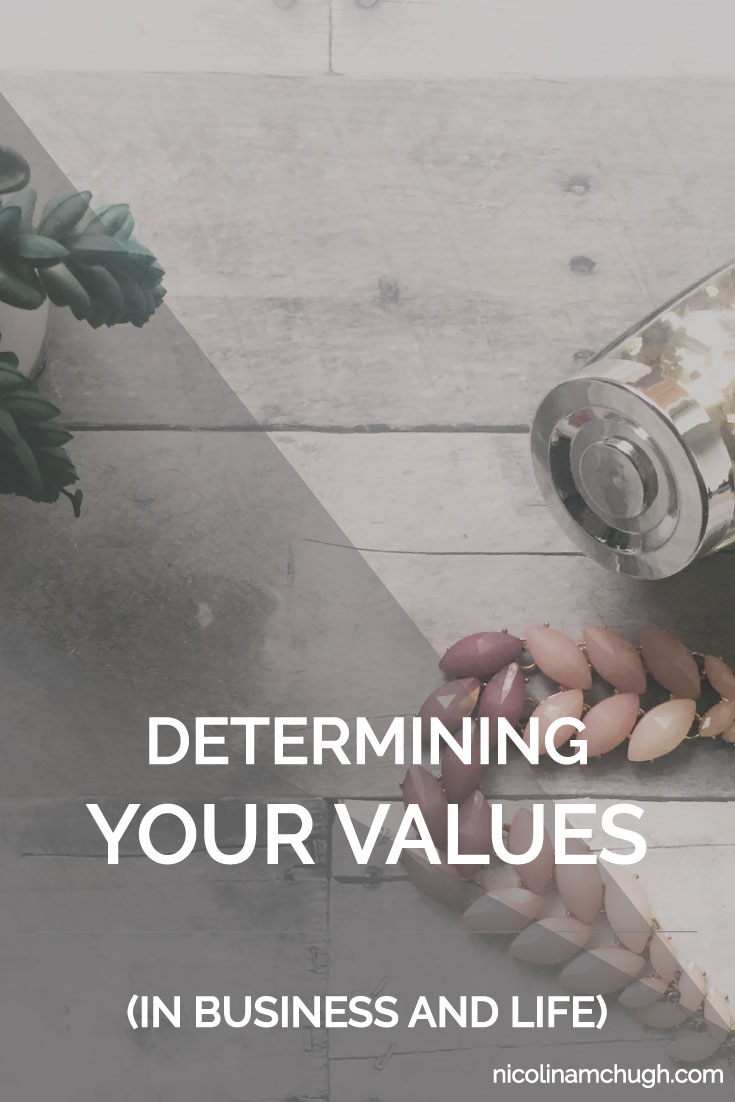 Recently I wrote about sticking to your values as both a person and a business owner. If you missed that one, you can read it here. But what happens if you're not super clear on what your values are? What if you have really blurry lines in the sand? That's ok. Values take time to understand and develop. And there is a super good chance that you do know what your values are, you just don't recognize these things as values.