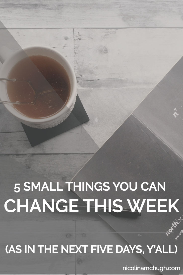 If you're anything like me, taking a look at the big picture to-do list can be absolutely terrifying. I mean we are right past -shudders- to AHHH! But if there is one thing that the never-ending list of stuff to do has taught me, it's that taking things one week at a time is a blessing. And sometimes, that isn't one week at a time. It's one day at a time.
