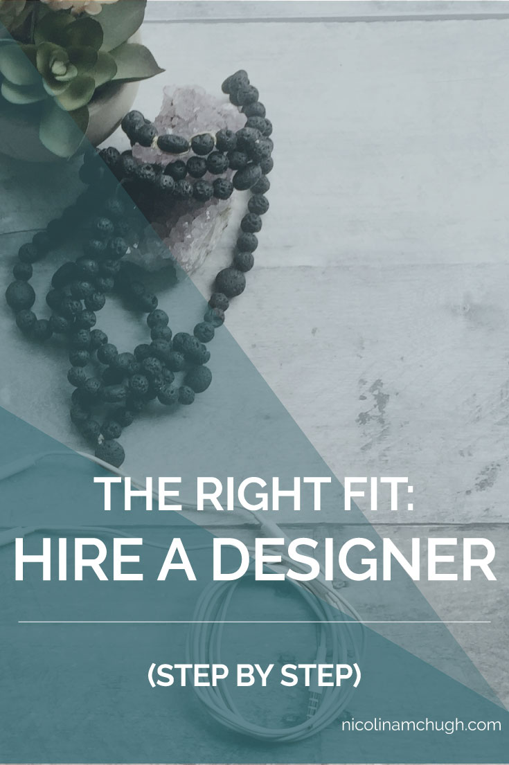 As a designer, I know how important it is to have the right fit between a designer and a client. And while nobody likes to turn away business, nobody wants to waste their time either. If there isn't a good, trusting relationship between designer and client, this can cause friction in places later that no one wants friction. (I'm fighting the dirty joke, I swear.)