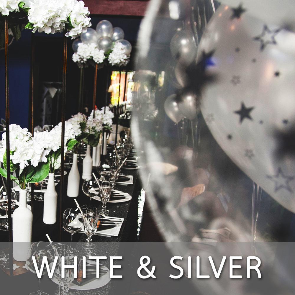 White Silver Theme