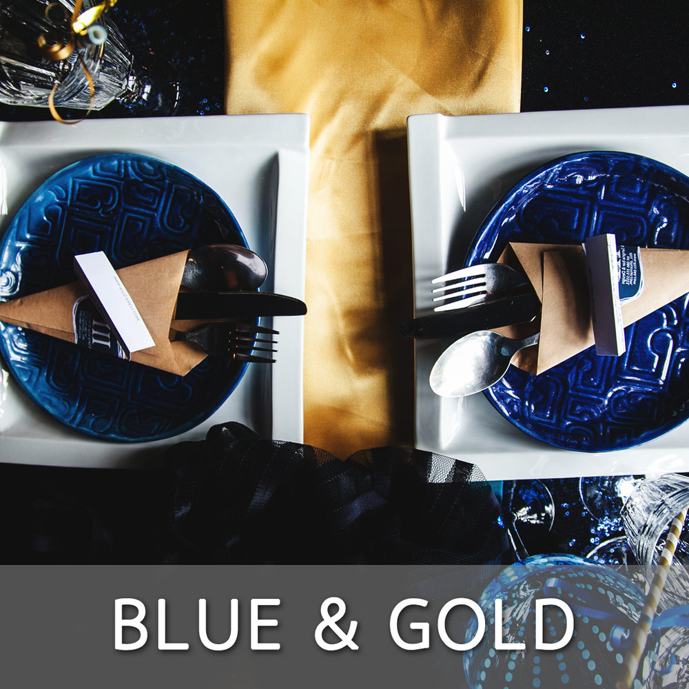 Blue Gold Theme