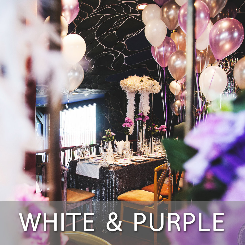 White Purple Theme