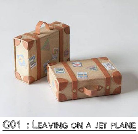 Leaving on a jet plane wrap