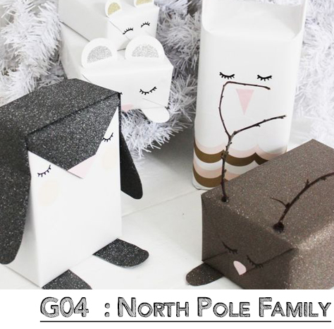 North Pole Family Wrap