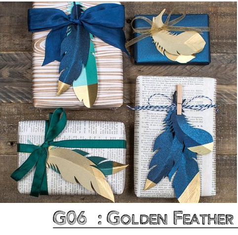 Golden Feather Wrap