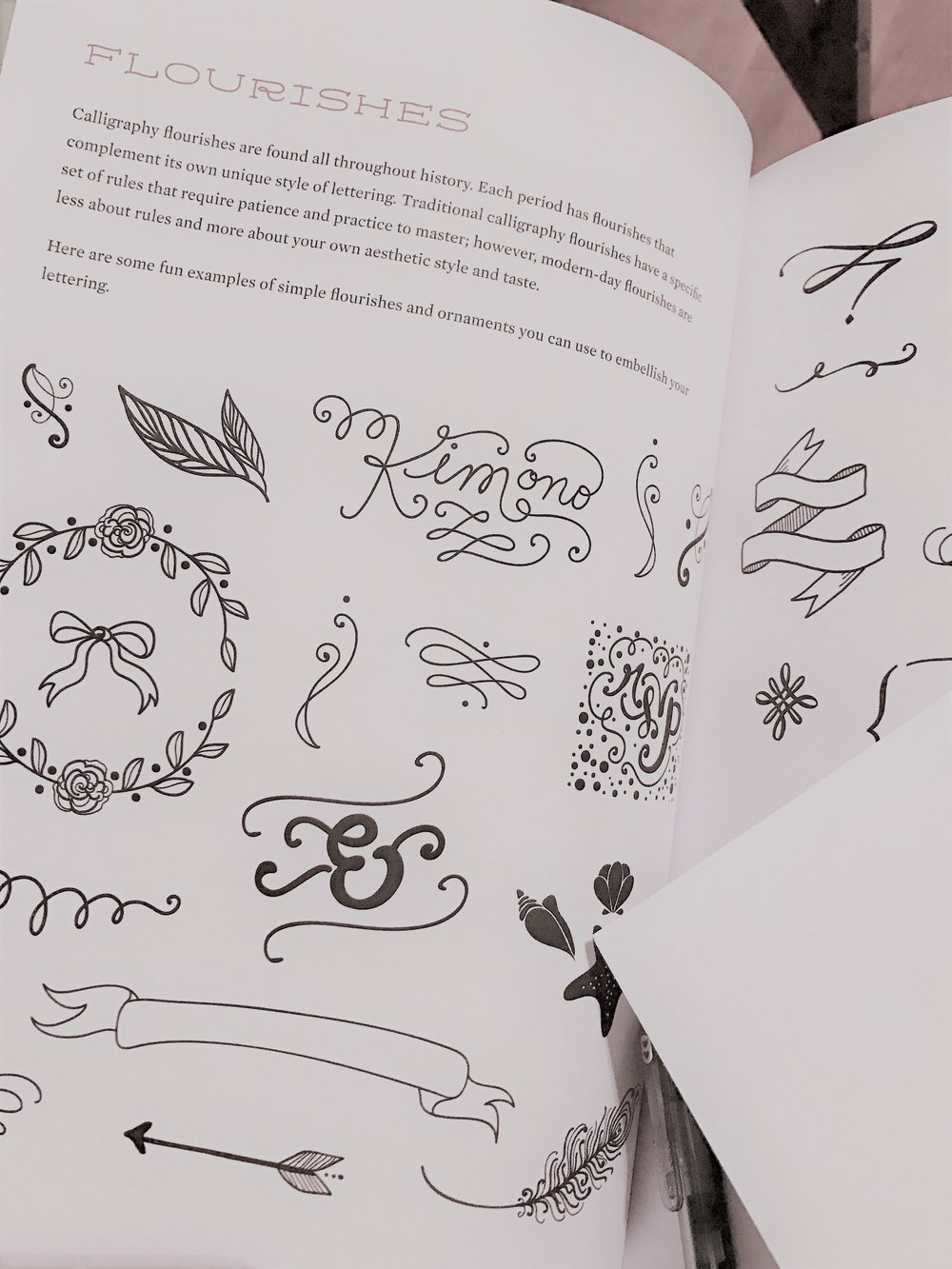 Examples from The Joy of Lettering