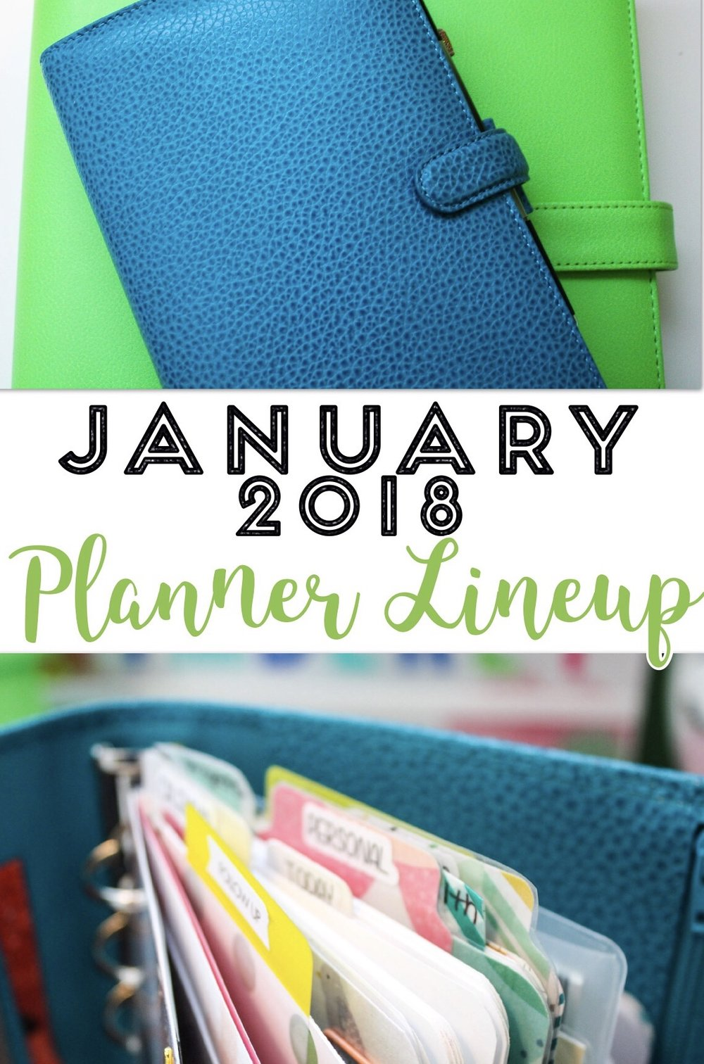 January 2018 Planner Lineup