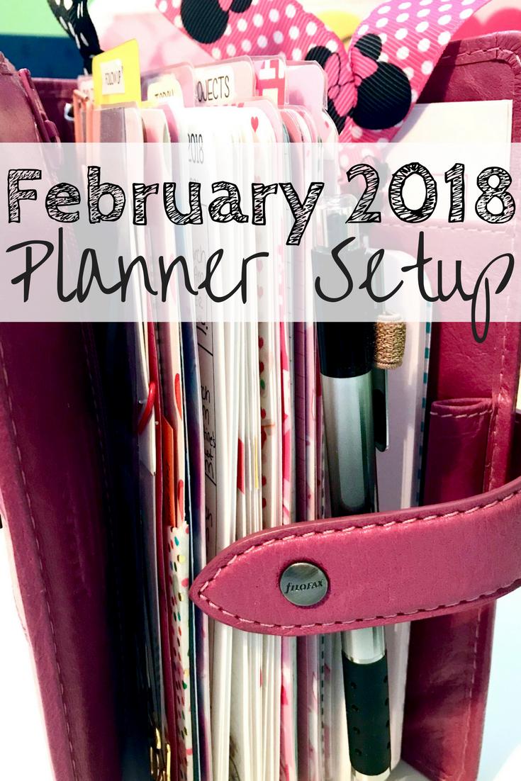 Planner Setup February 2018