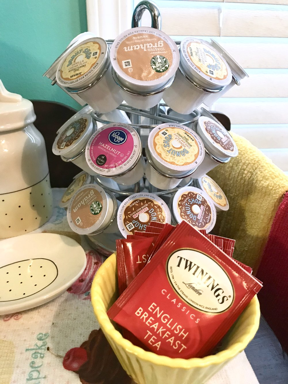 K-Cups and Tea