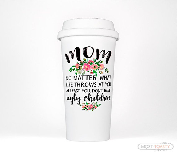 Mom Travel Coffee Cup