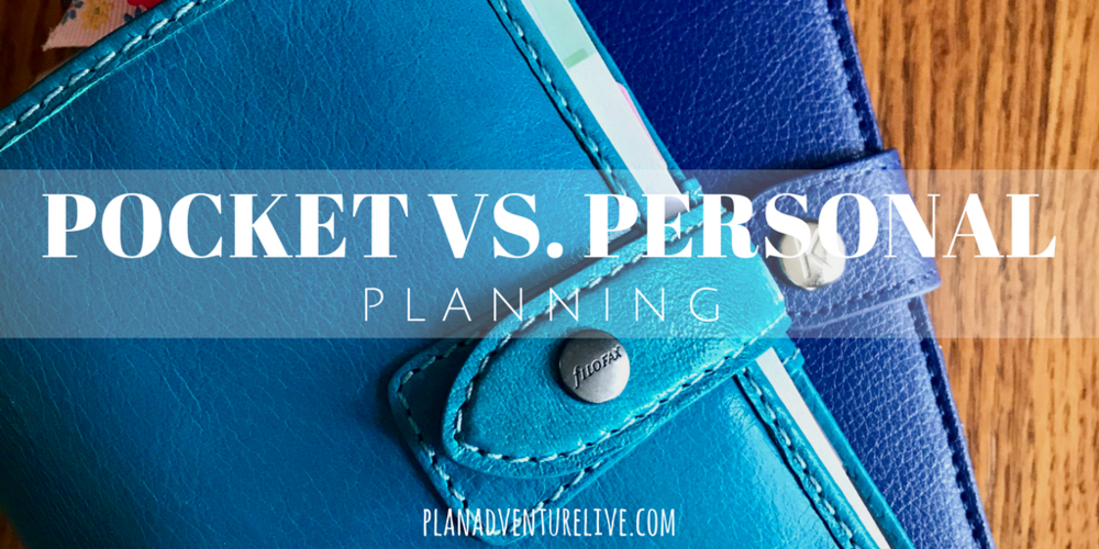Pocket vs. personal planning