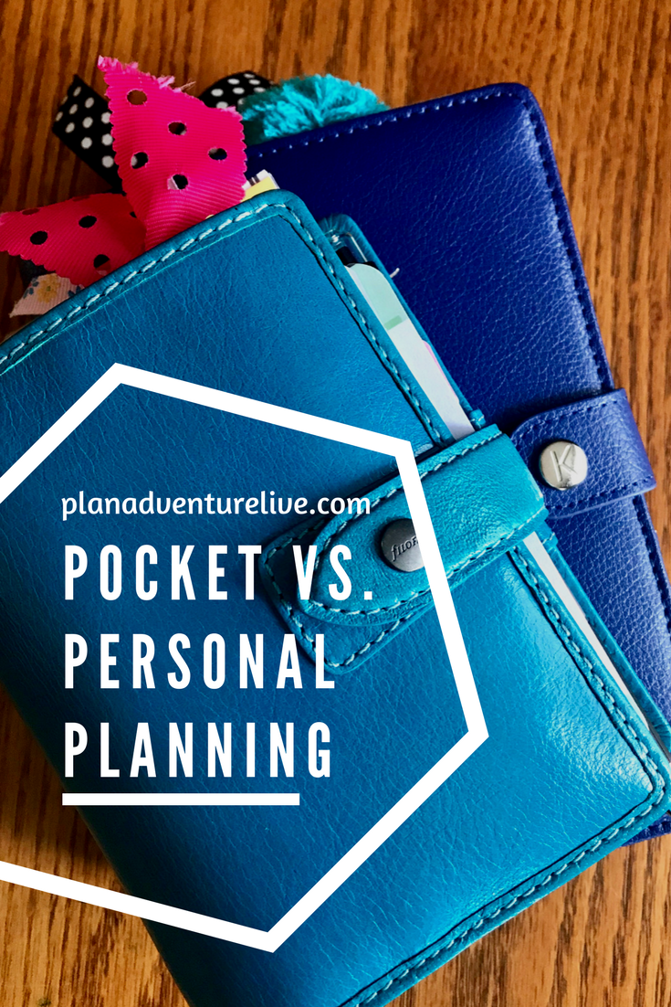 Pocket vs Personal Planning