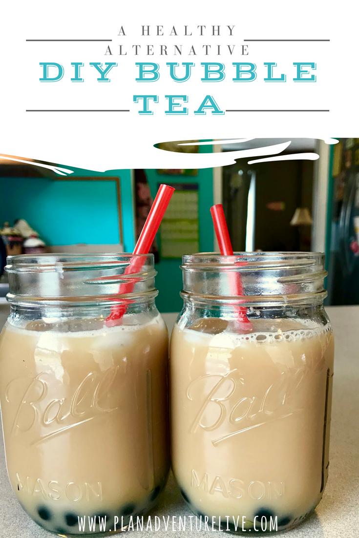 DIY Bubble Tea: Healthy Alternative