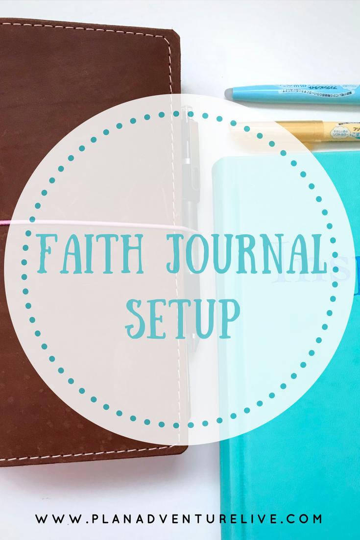 Faith Journal Setup