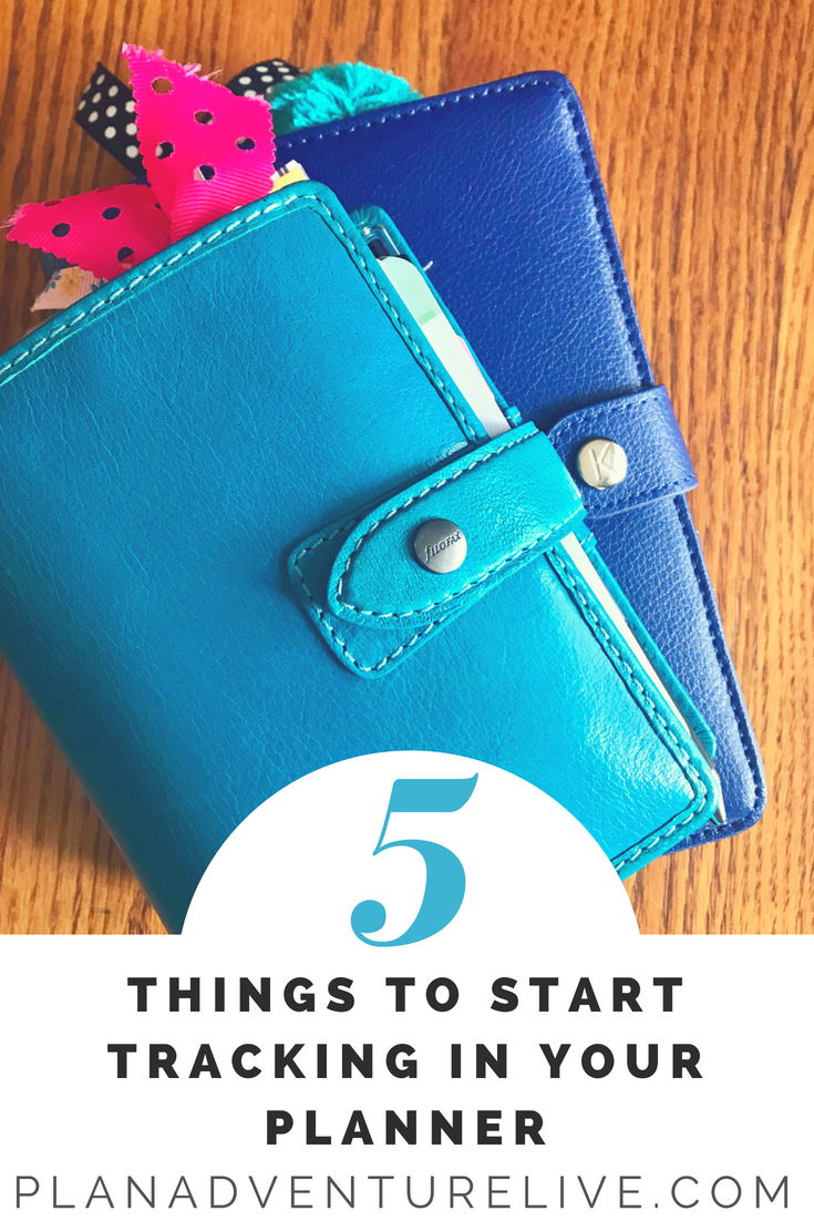 5 Things to Start Tracking in Your Planner