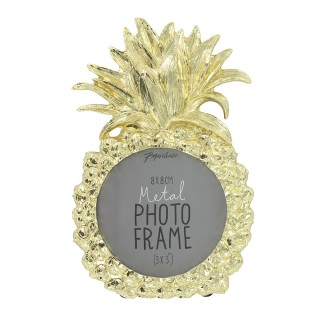 Gold Pineapple Picture Frame