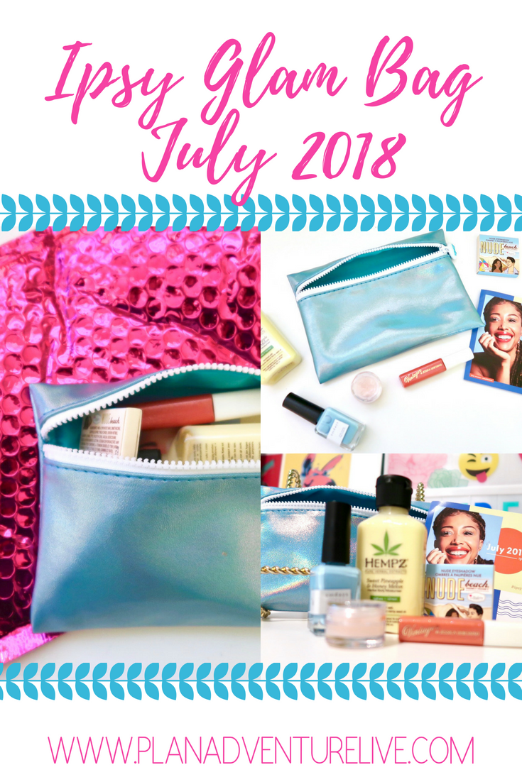 Ipsy Glam Bag July