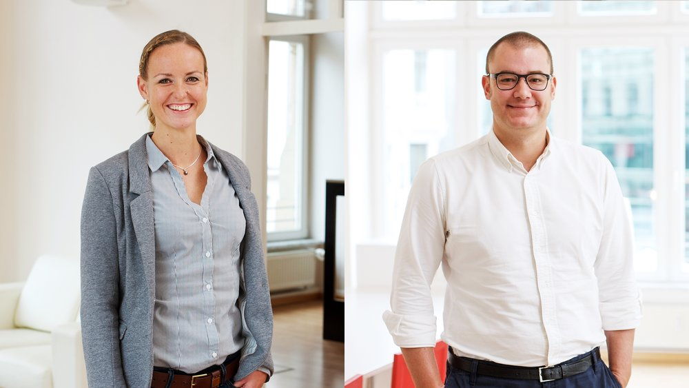 Unit Directors Claudia Baacke und Sven Lehmann