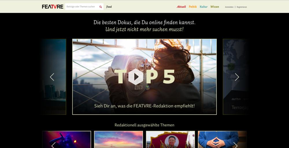 Die Online Plattform FEATVRE setzt auf rekordmarke