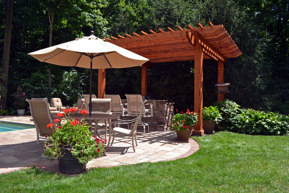 Rustic Pergola and kitchen near pool.jpg