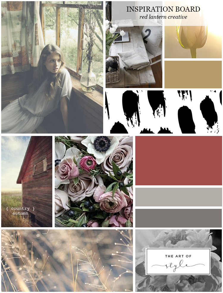 Red Lantern Creative Inspiration Board