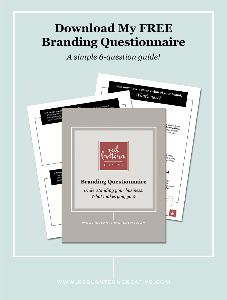 Free Branding Questionnaire