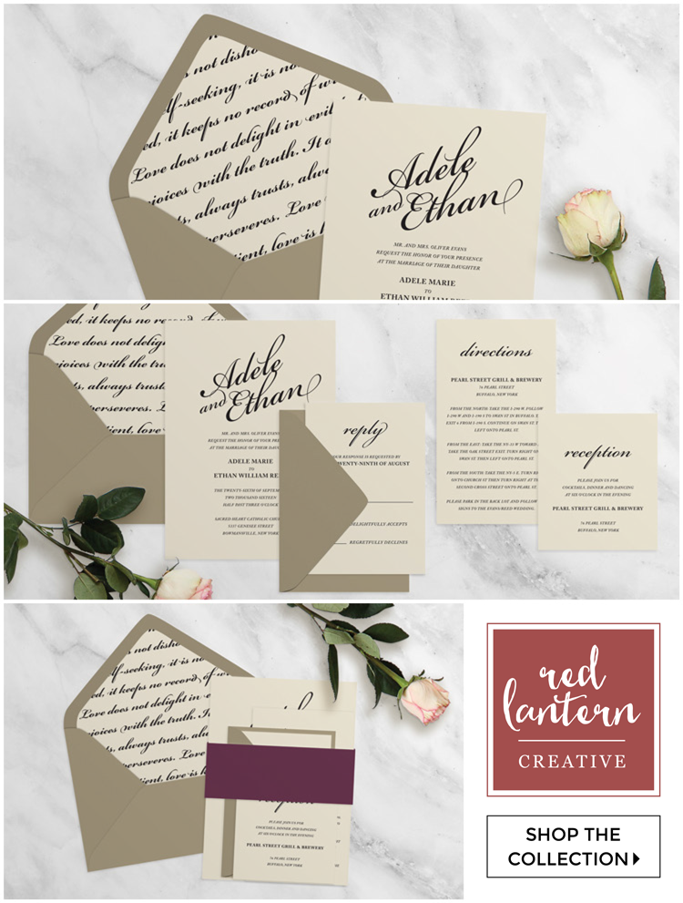 Luxury Wedding Invitations for the Budget Friendly Bride — Red ...